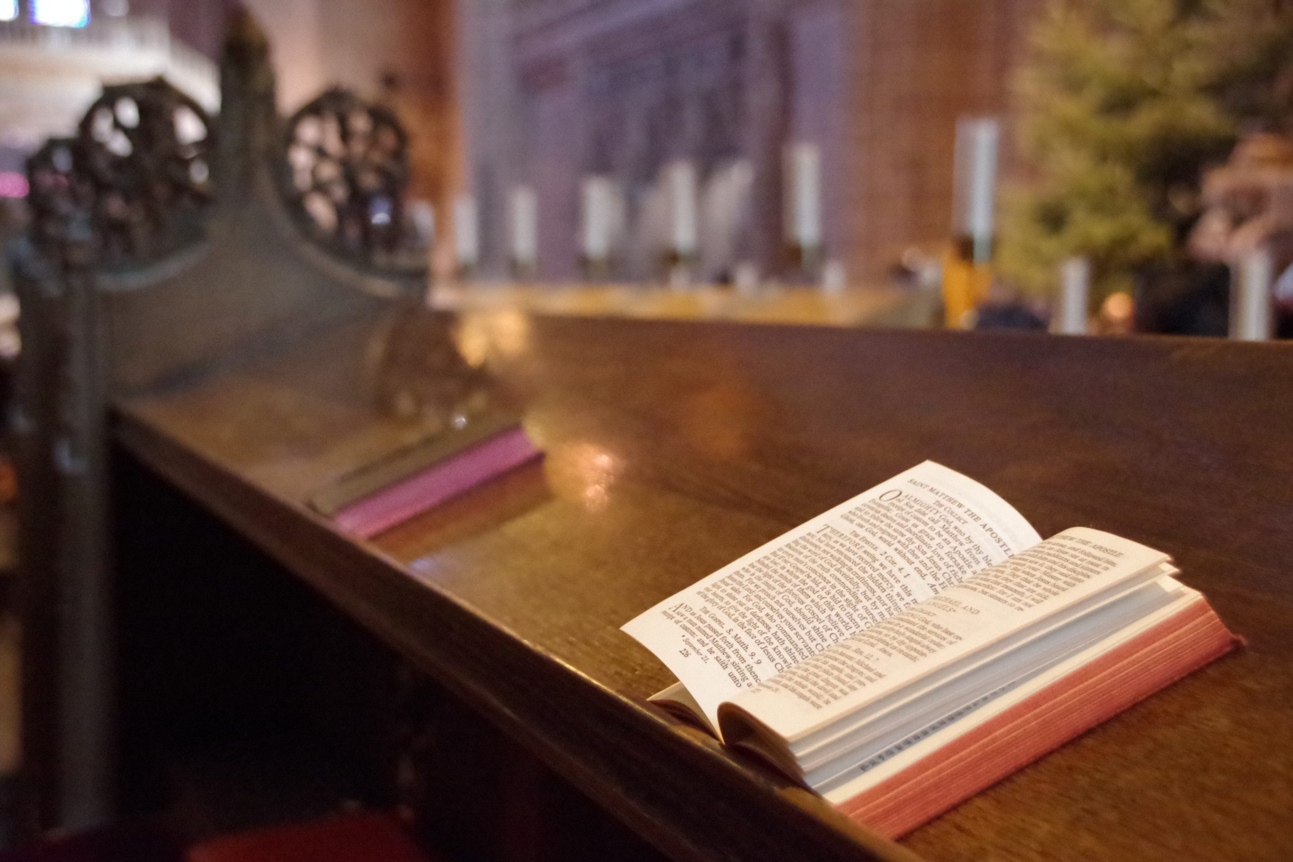 Readings in the Cathedral