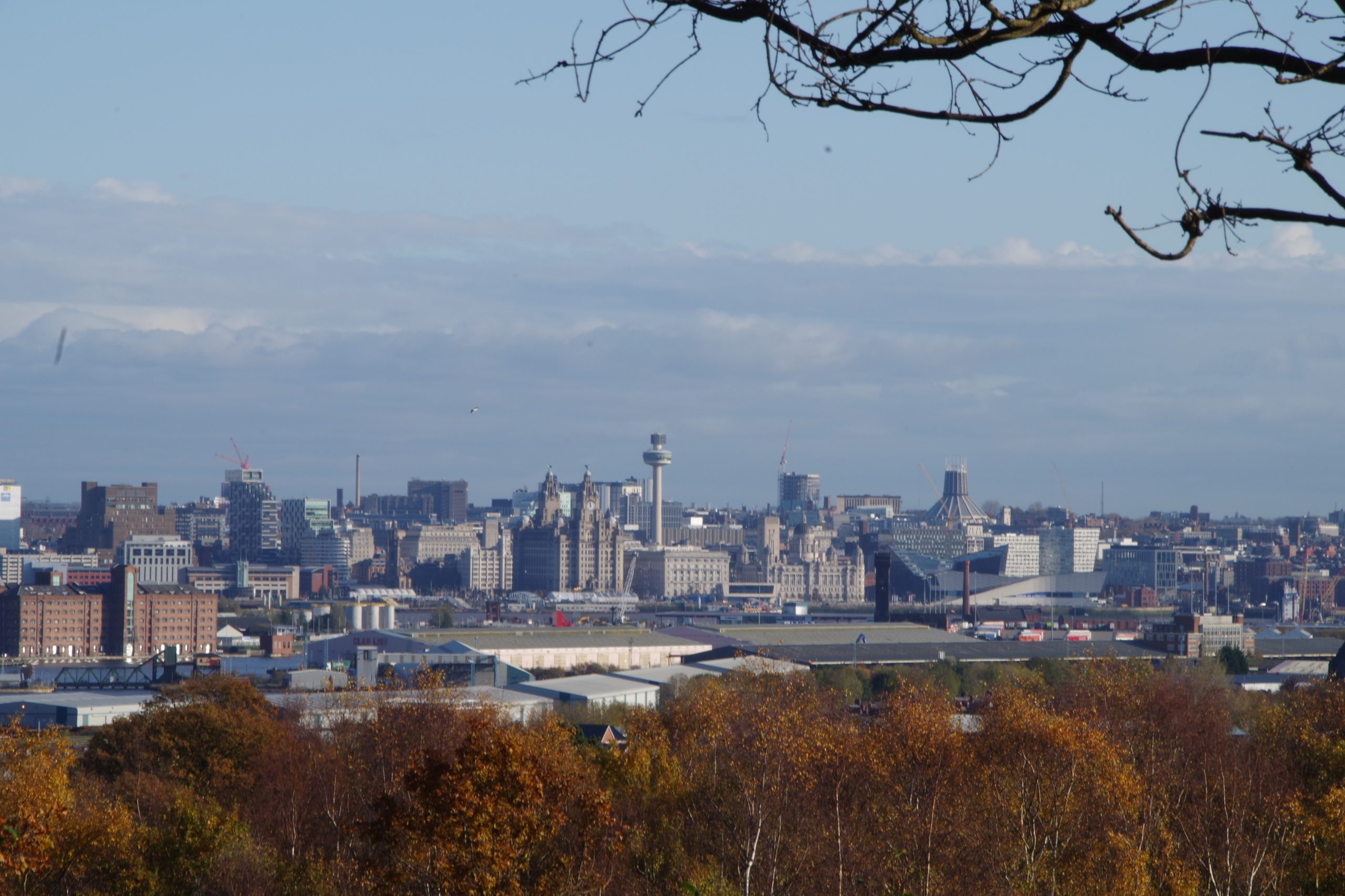 Liverpool from Bidston