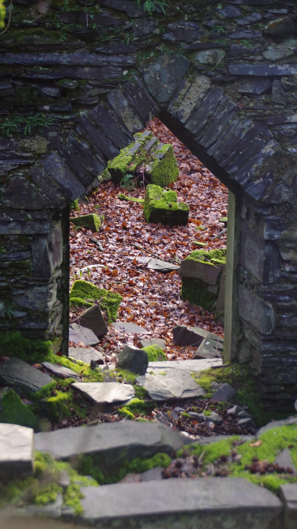 Window of slate at Doroathea Quarry