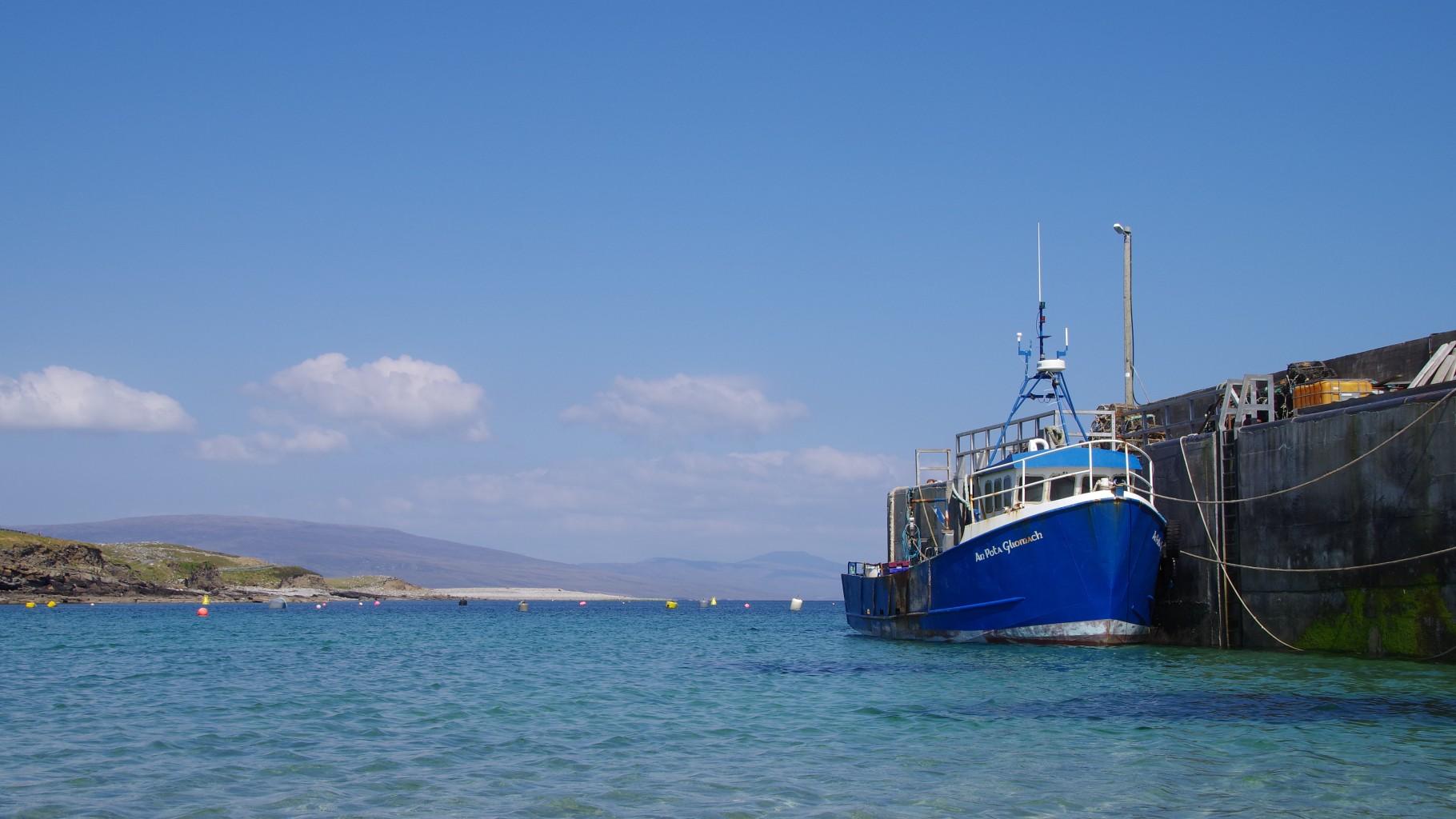 Clare Island Harbour