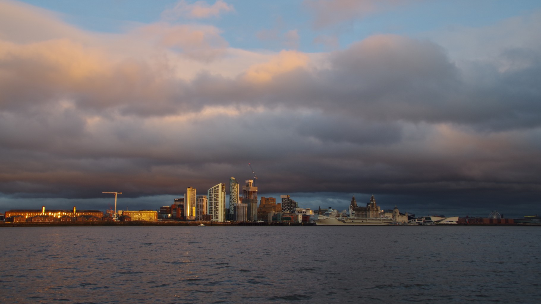 A Stormy Liverpool Evening