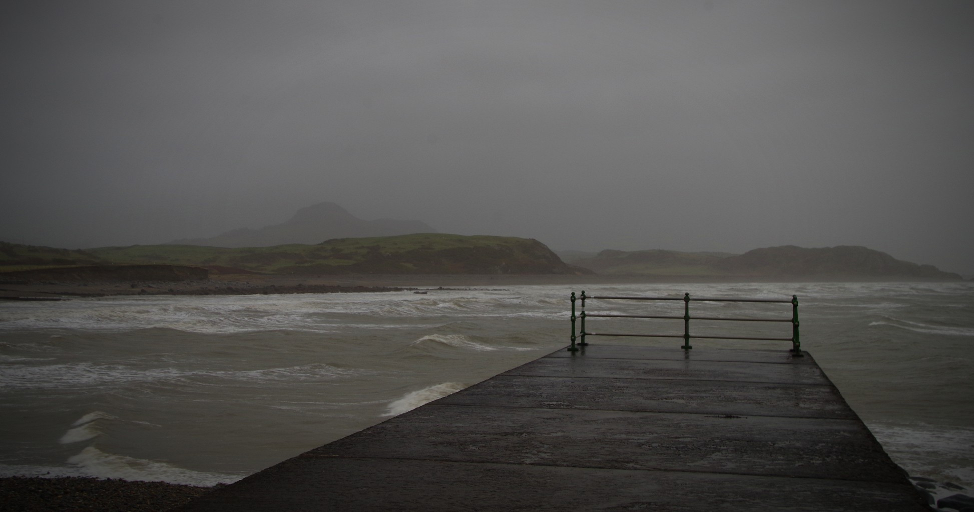 A Stormy View At Criccieth