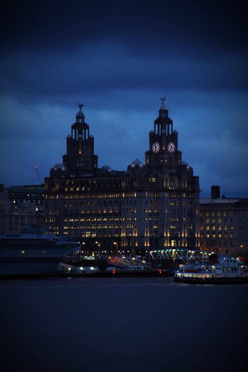 A dark and broody Liver Building