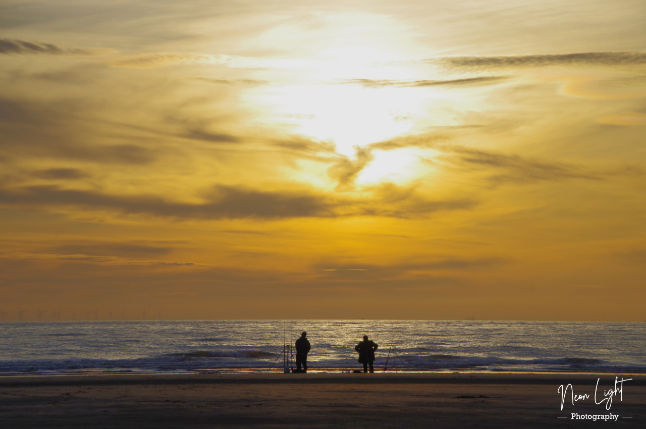 fishing-as-the-sun-sets