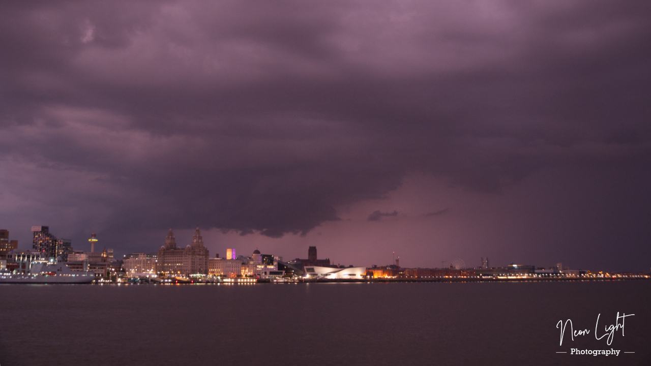 Liverpool Lightning Storm