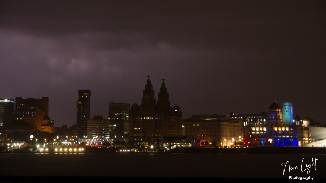 A Rumble of Thunder over Liverpool