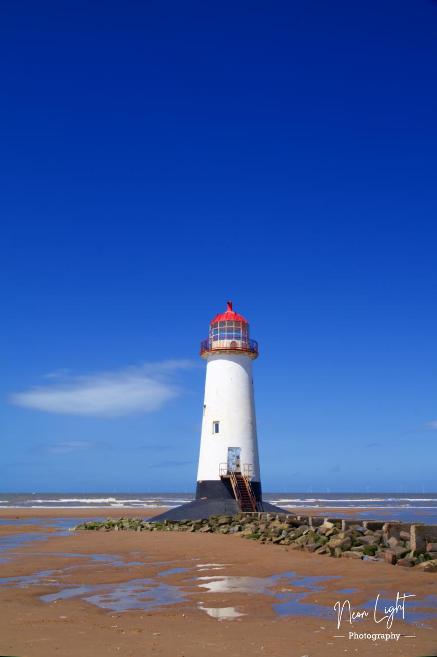 Point of Ayr Lighthouse Colour