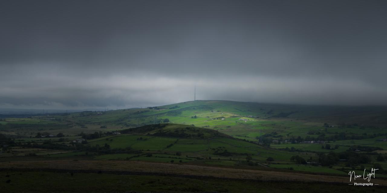 Radio Mast In A Stormy Sky