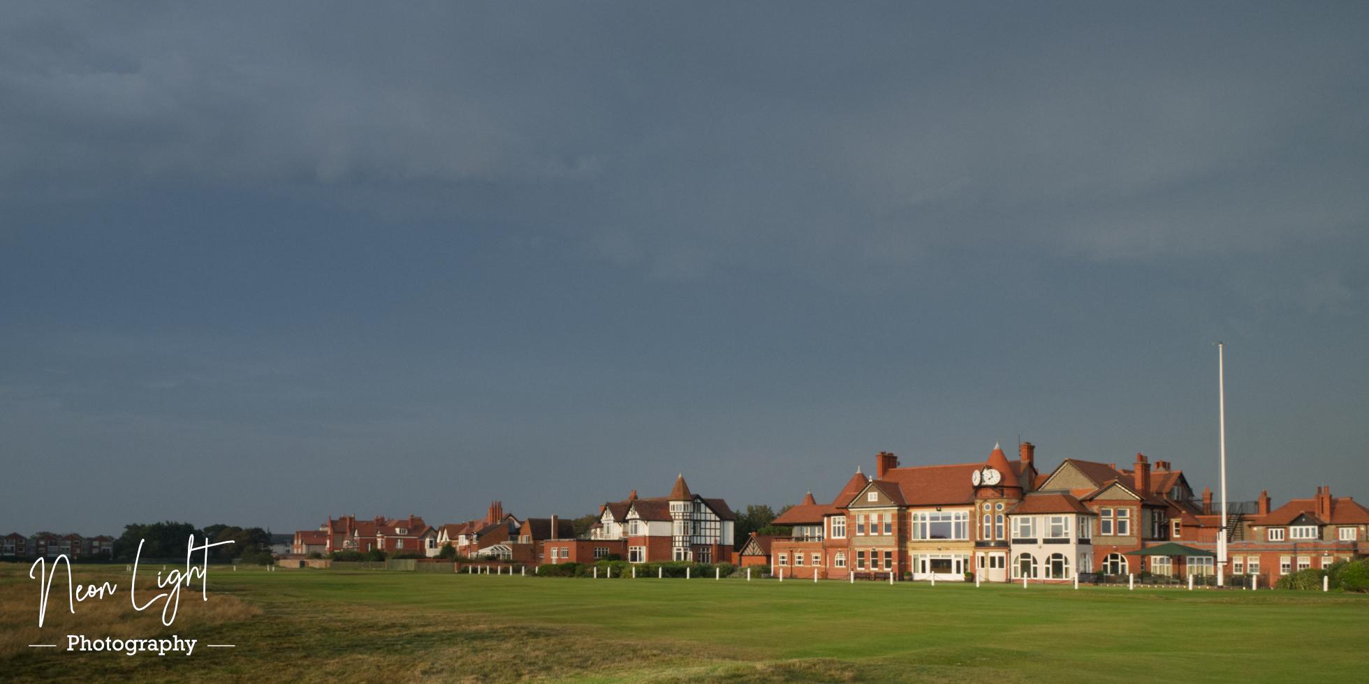 Evening Sun on the Royal Liverpool Golf Club