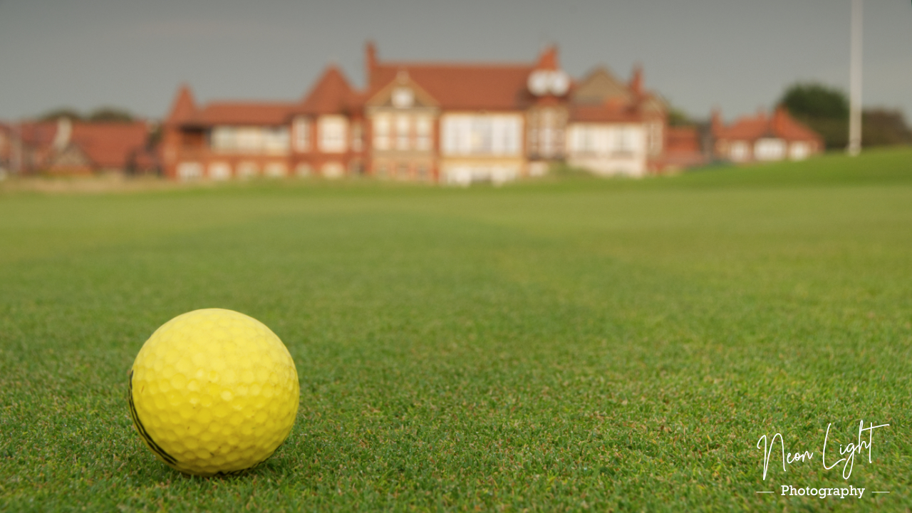 On The Green at Royal Liverpool