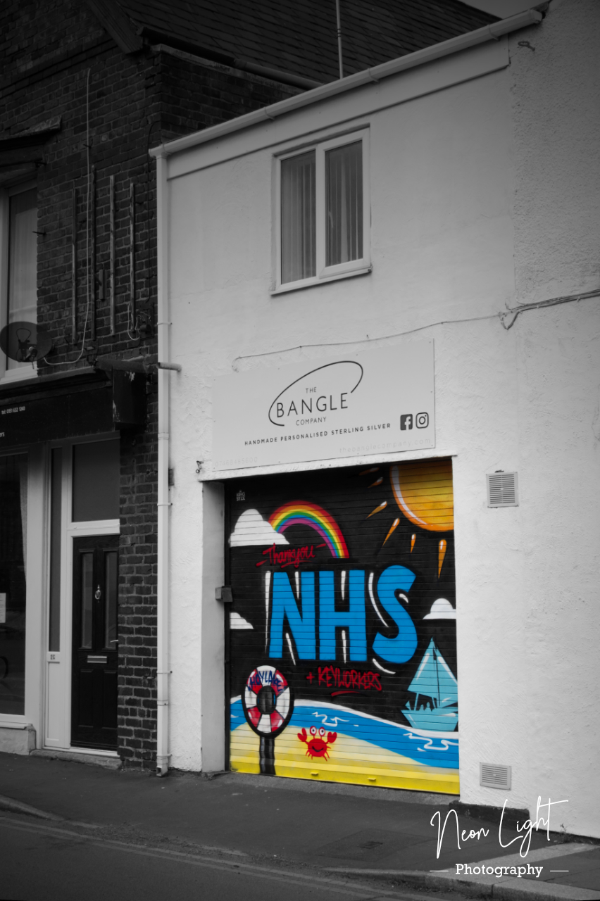 NHS Mural Bangle Hoylake