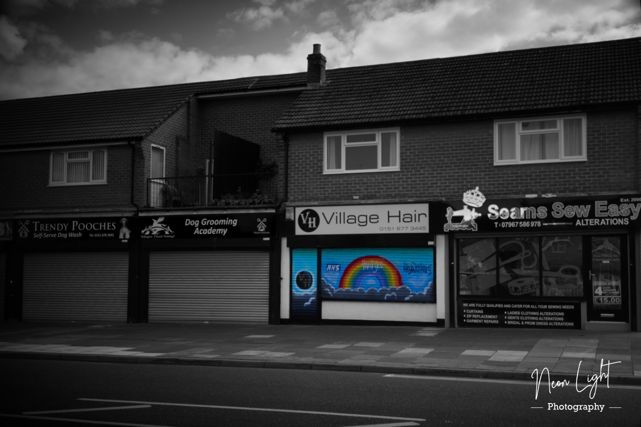 NHS Rainbow Village Hair Moreton