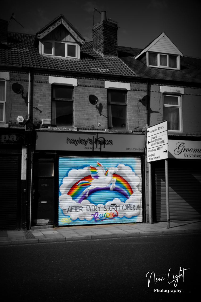 Hayley's hair and beauty Wallasey Rainbow