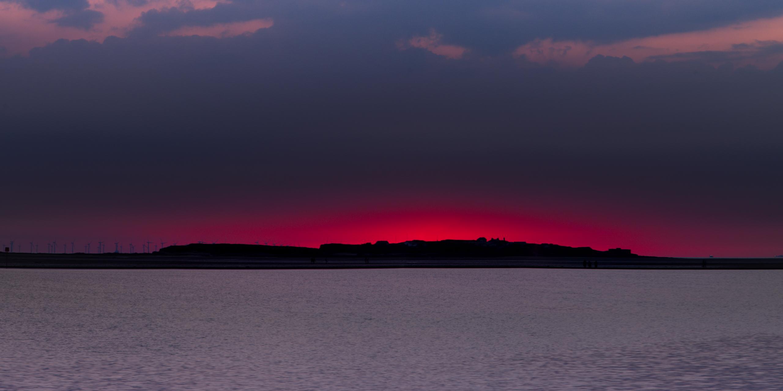 Hilbre Sunset Pink Fire