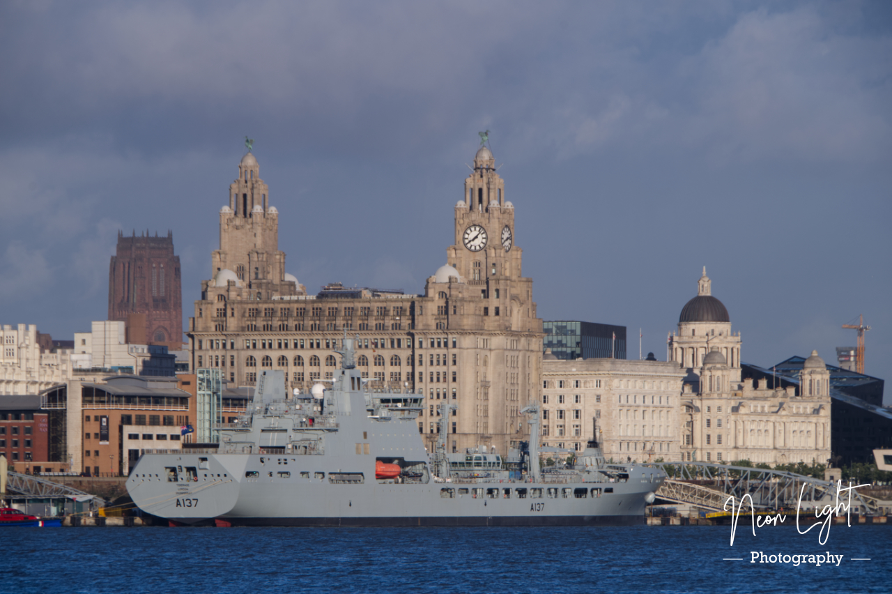 RFA Tiderace and the Three Graces