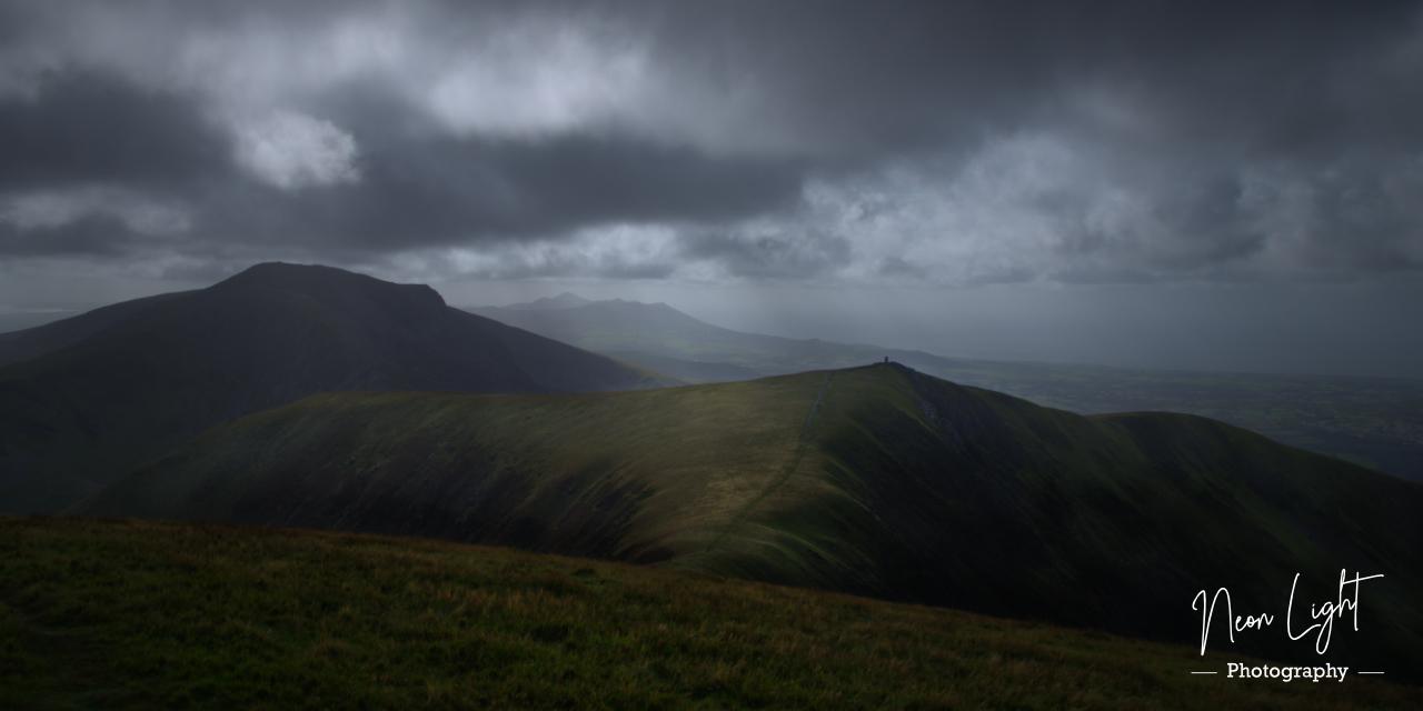Light Falls on Mynydd Tal-y-Mignedd