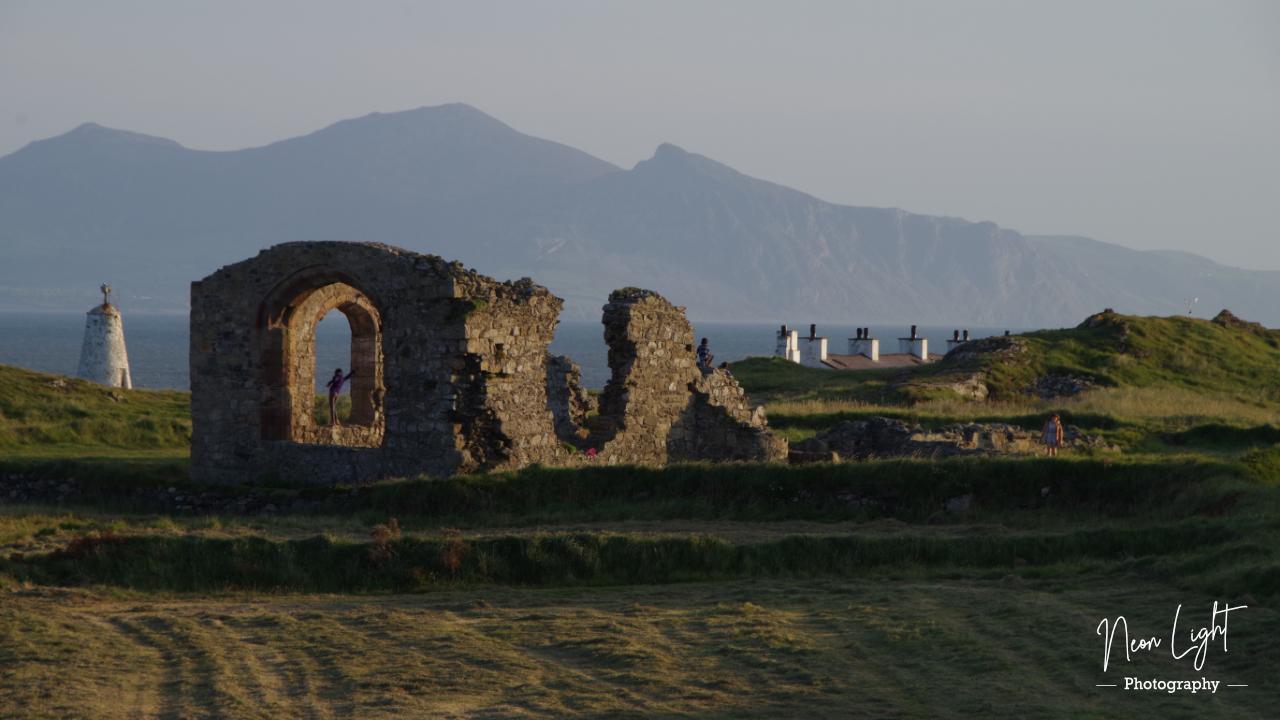 Ynys Llanddwyn St. Dwynwen's Church Ruins