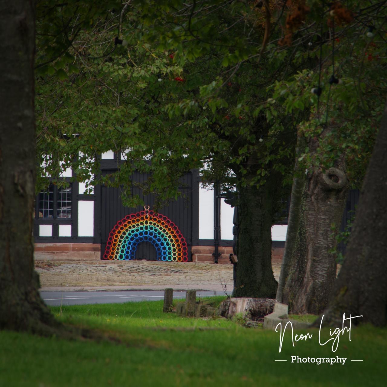 Smithy Rainbow through the Trees