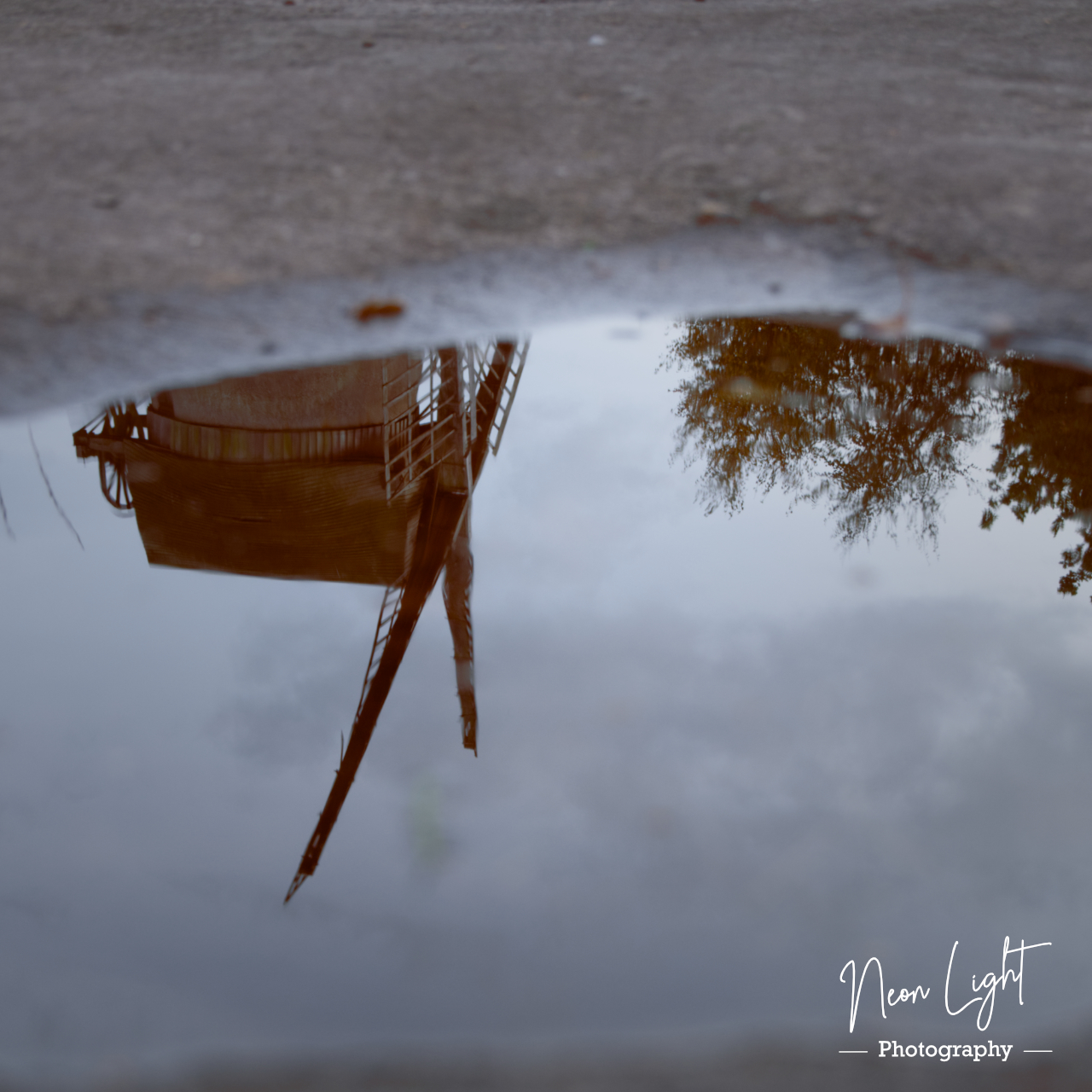 Bidston Windmill Reflections