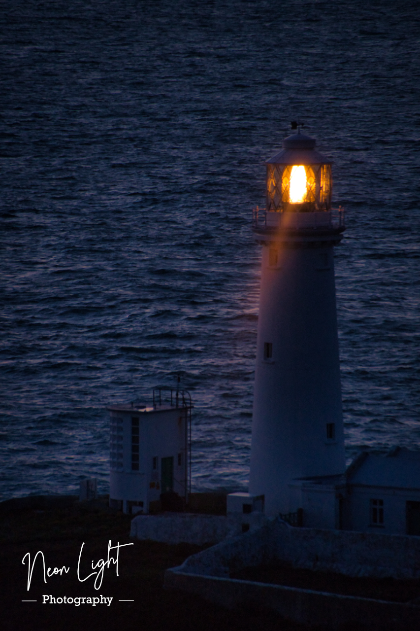 Beam of Light from South Stack