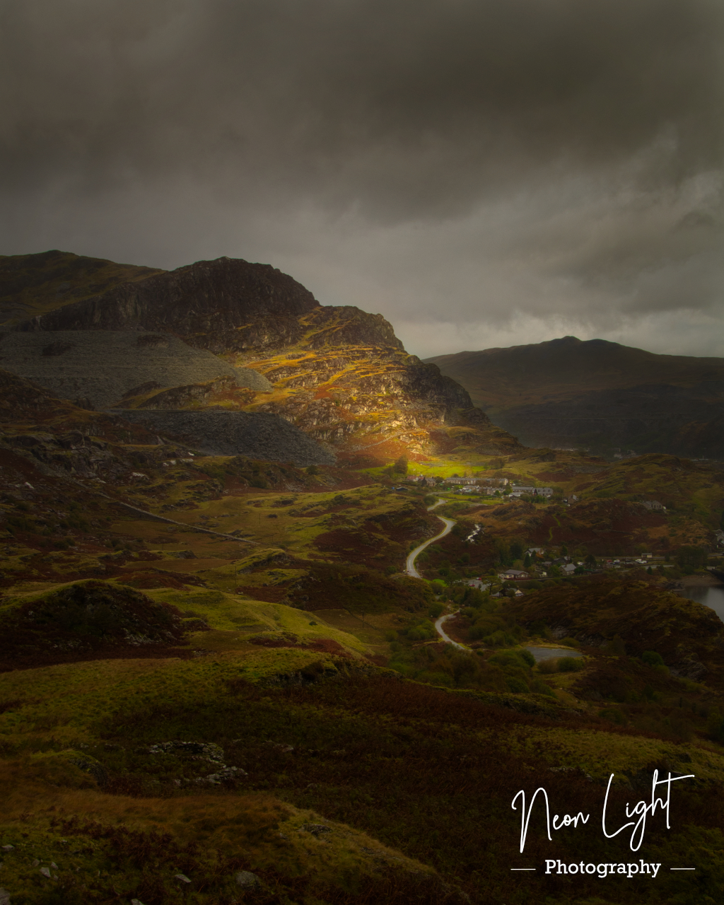 Stormy Day above Tanygrisiau