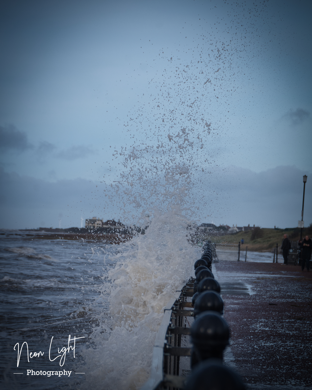 Waves Crash at West Kirby