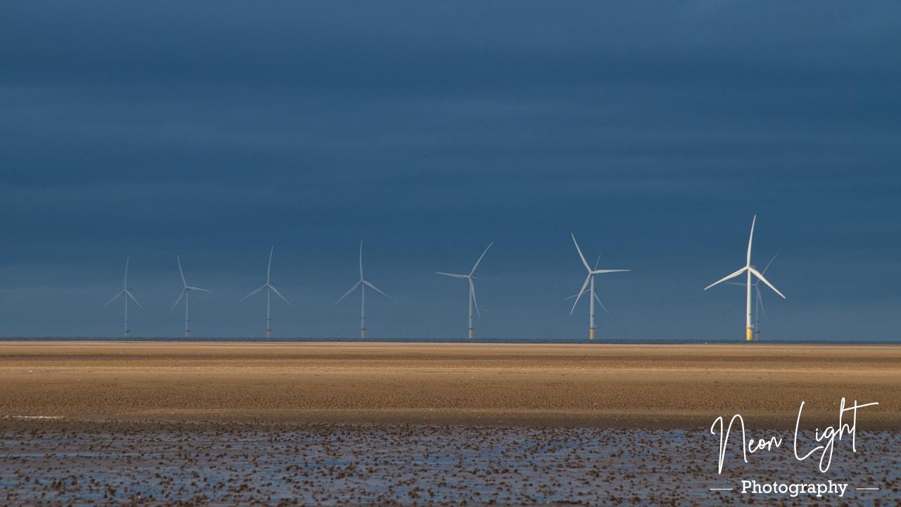 Hoylake Winter Windfarm
