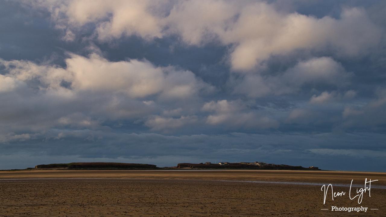 Hilbre Island Candyfloss Clouds