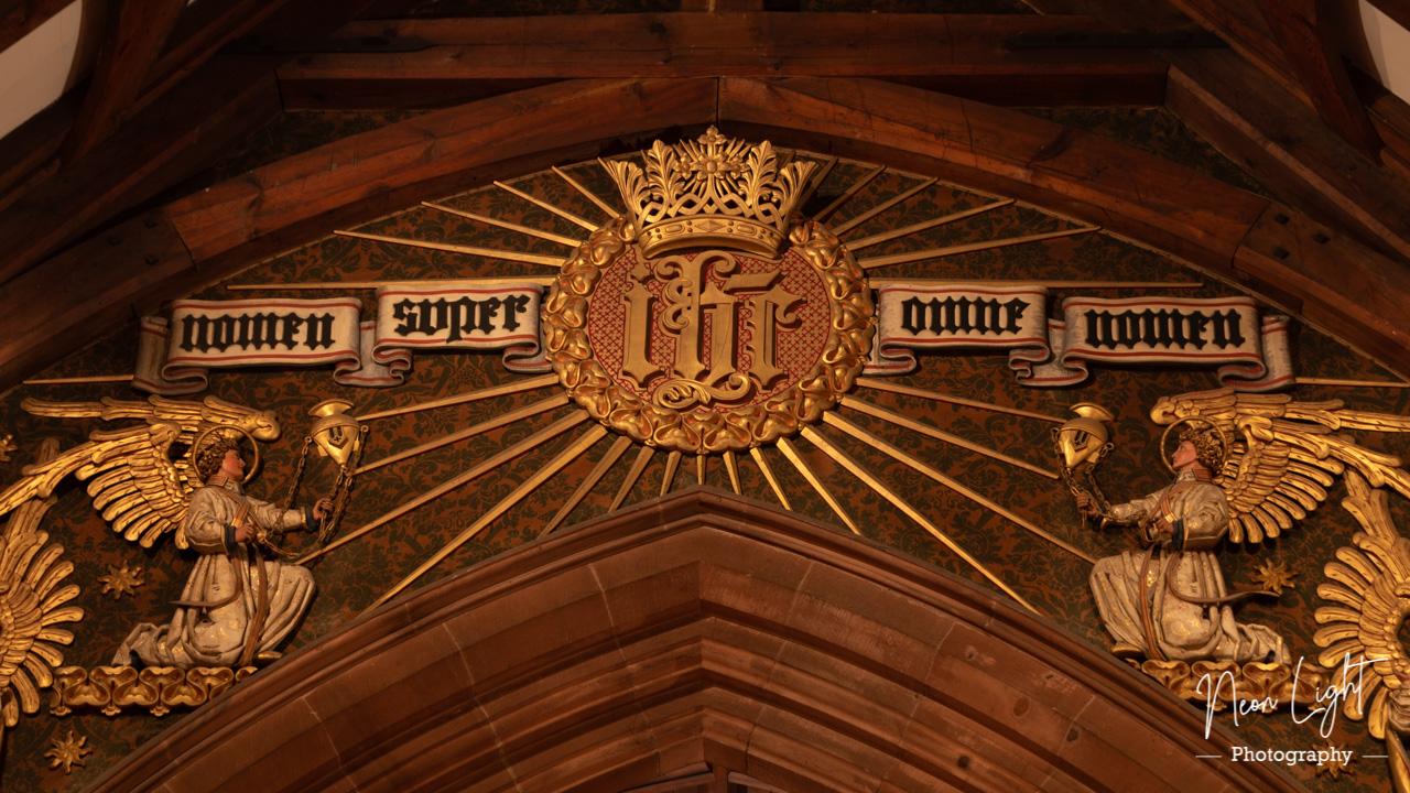 Saint Bridgets Chancel Arch