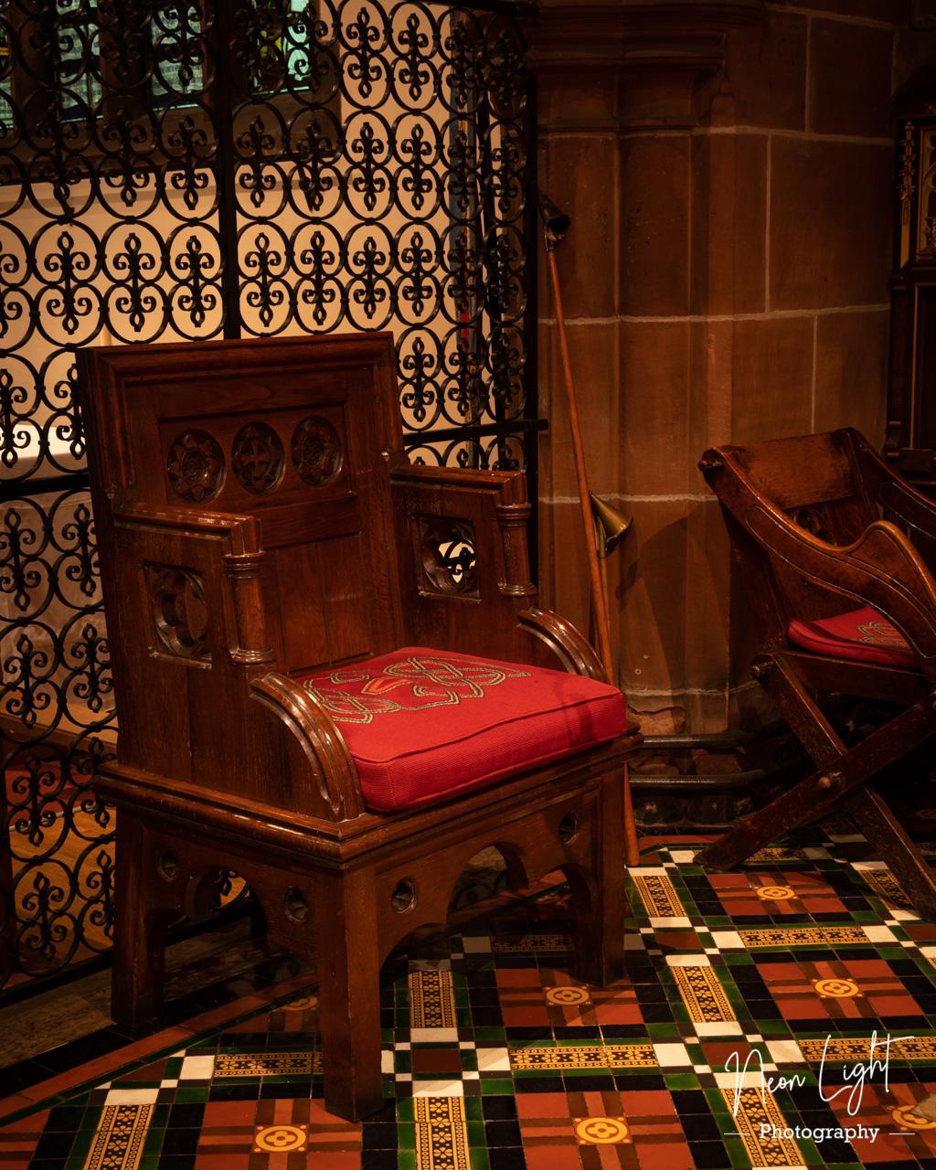 Saint Bridgets Presider Chair