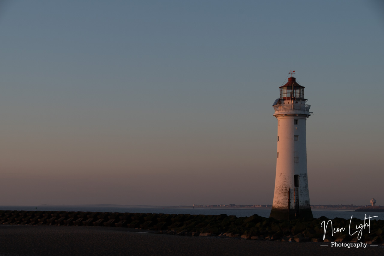 Golden Hour New Brighton Lighthouse