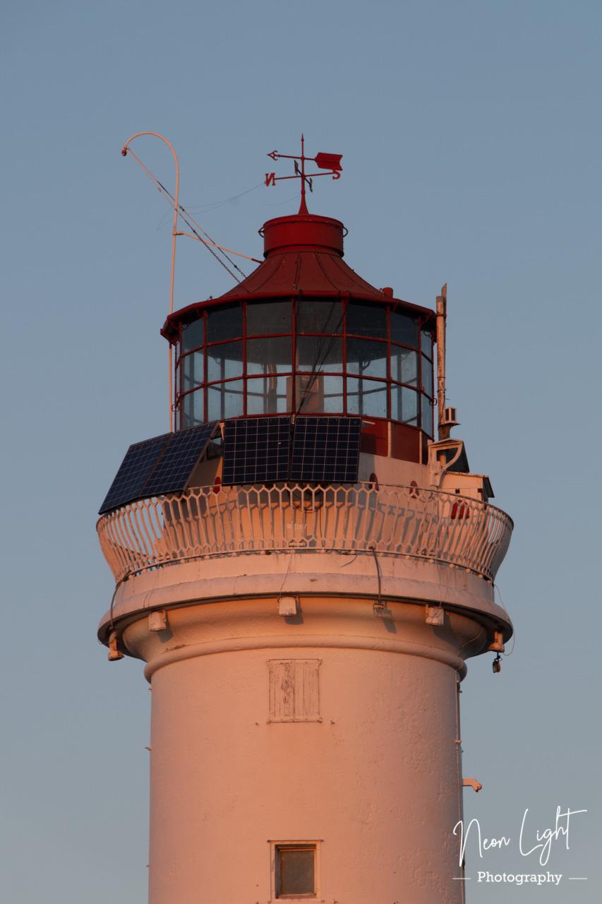 Golden New Brighton Lighthouse
