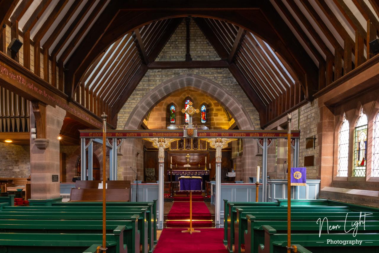 Caldy Church Interior