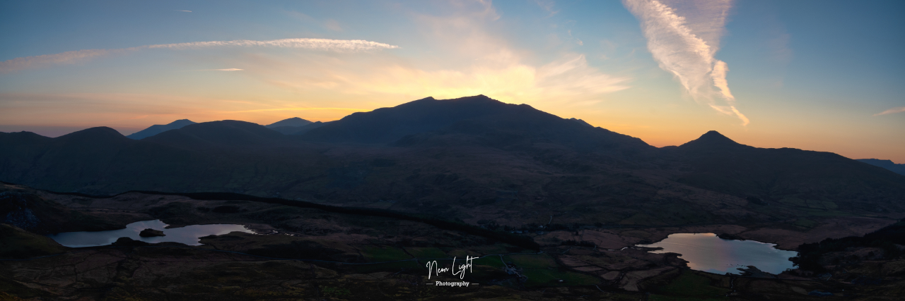 Dawn Over Mount Snowdon