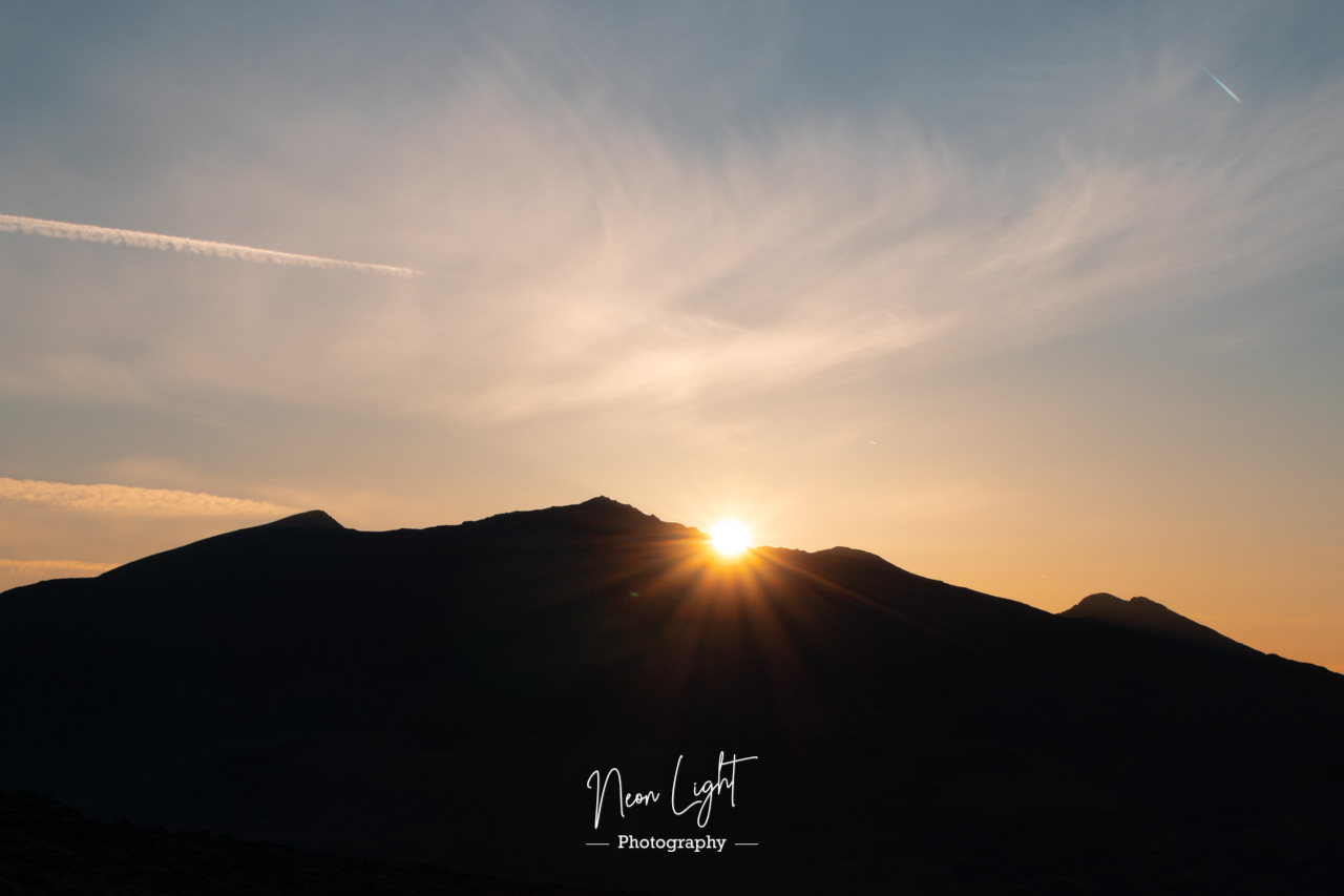 Snowdon as the Sun Rises