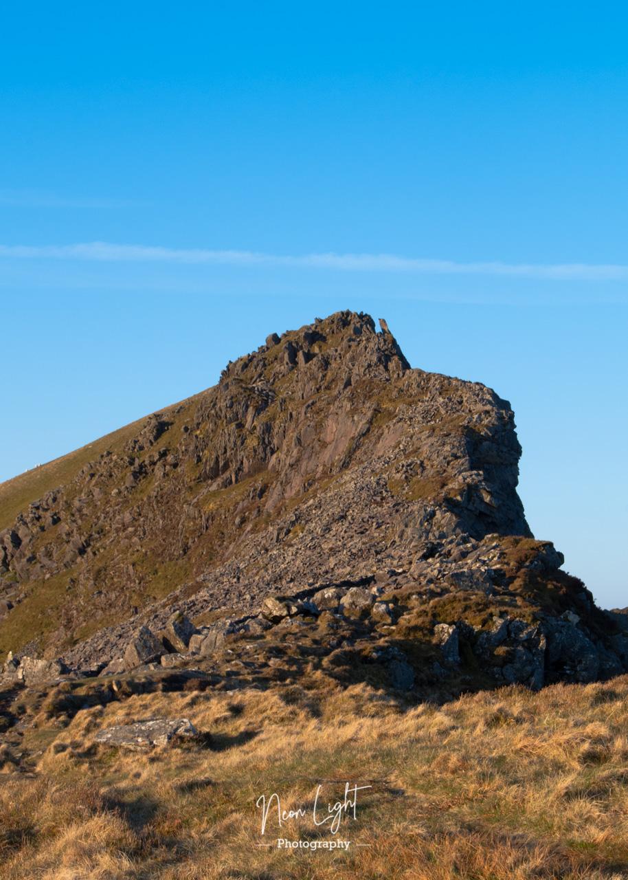 Peak of Mynydd Drws-y-Coed