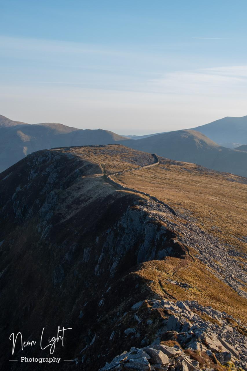 Crossing the Nantlle Ridge