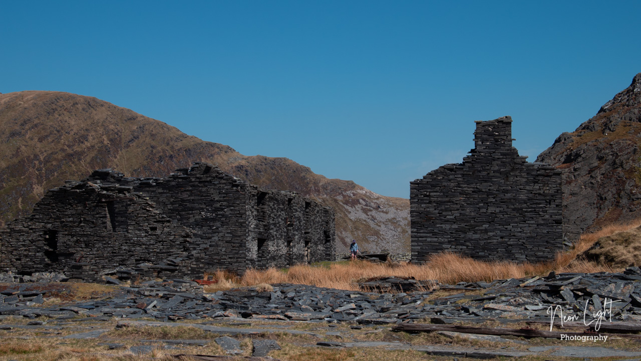 Rhosydd Quarry Ruins