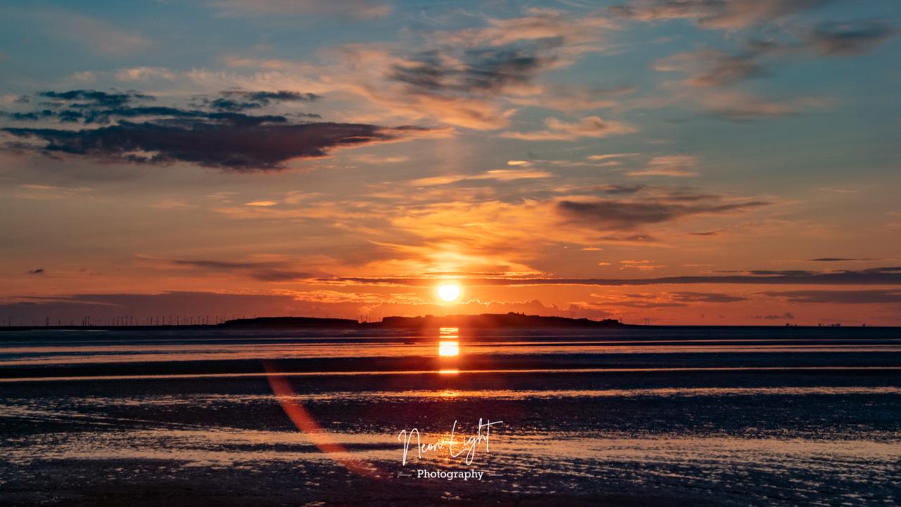 Springtime Hilbre Sunset