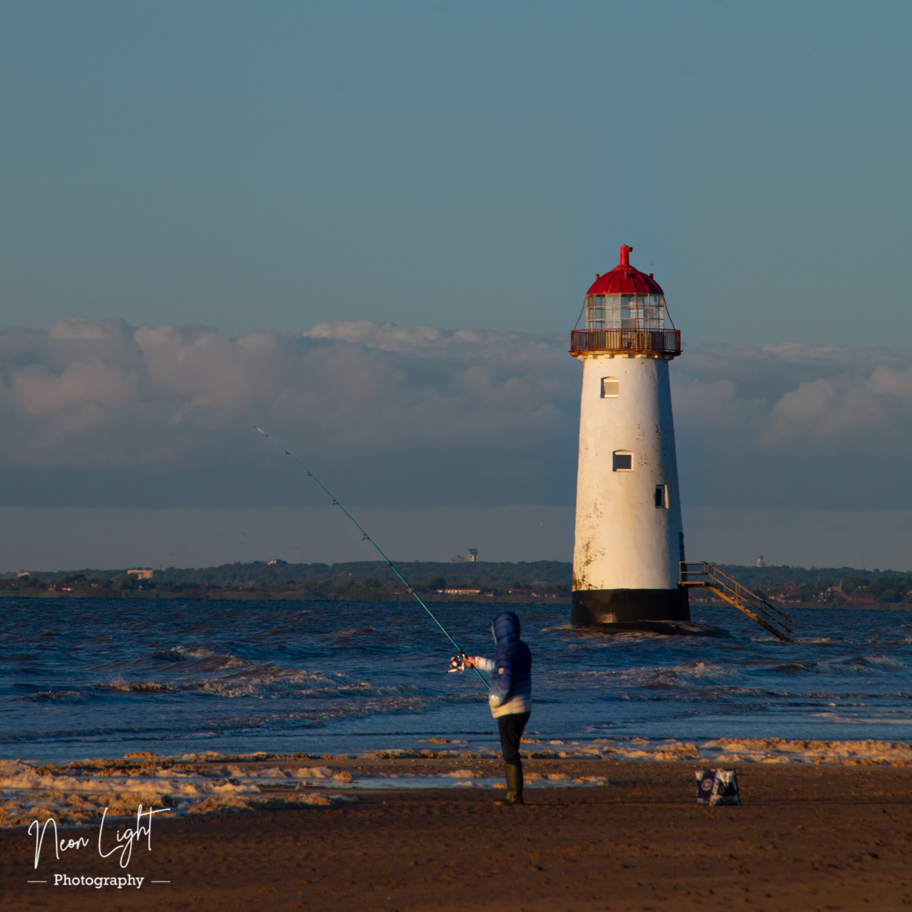 Fishing the Point of Ayr