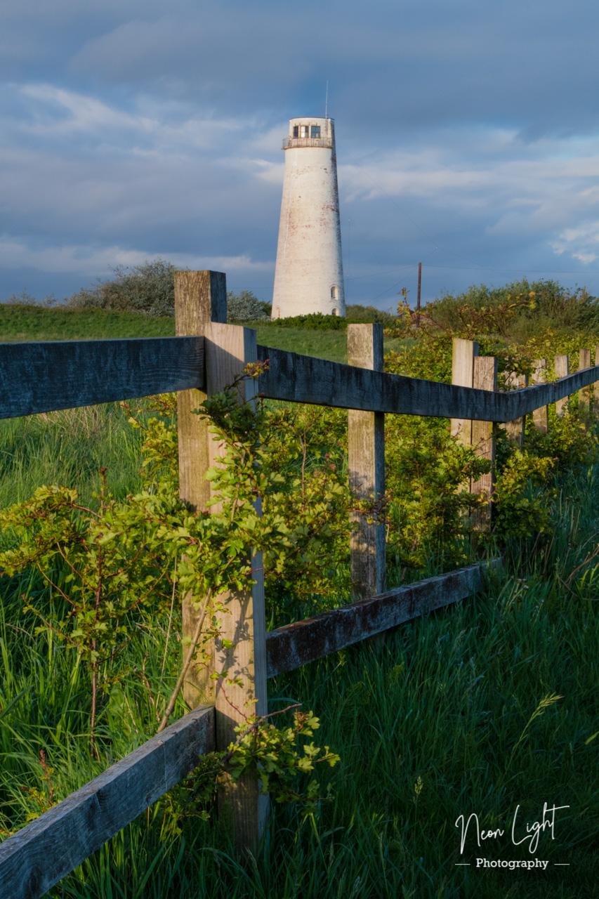 Approaching Leasowe Lighthouse