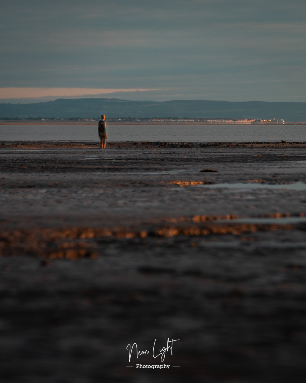 Mud Flats and Statues