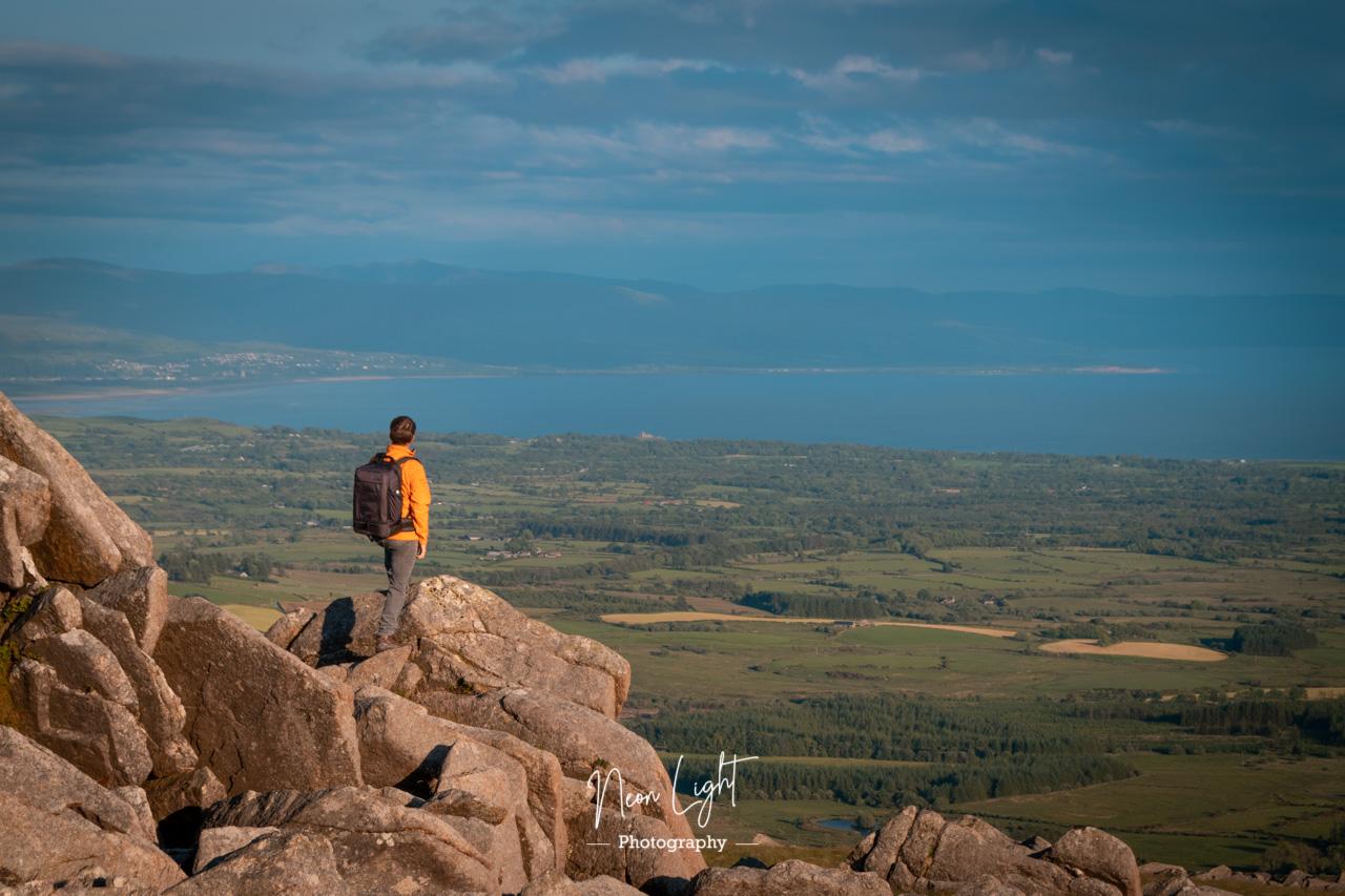 Overlooking Bae Ceredigion