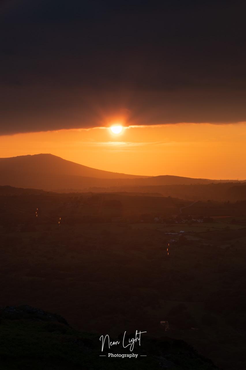 Solstice Sunset Skies