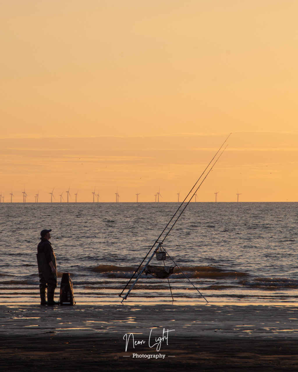 Fishing for a Sunset