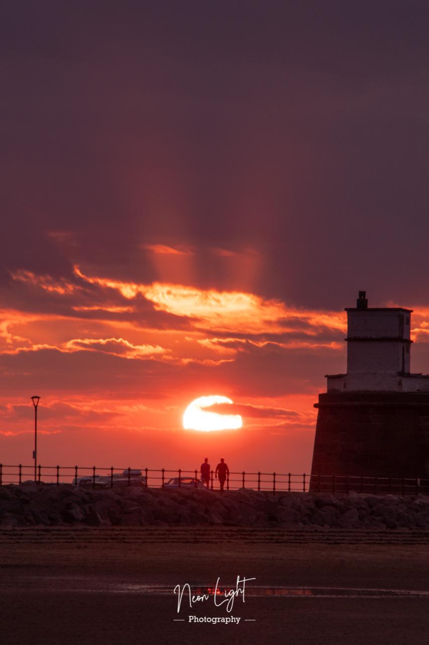 Sunset at Perch Rock